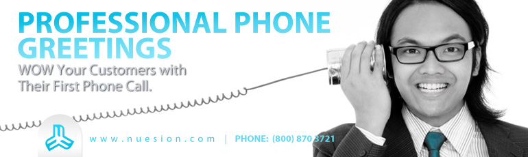 Professional voicemail greeting example nuesion professional phone nuesion professional phone greetings m4hsunfo